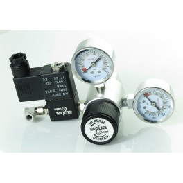 New premium Japan precision SMC CO2 Speed Flow Controller adjust Regulator with DC12V Soleniod (Aqua-Labs)